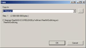 Extract FreeNas To Folder