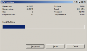 Extracting FreeNAS 8 img file
